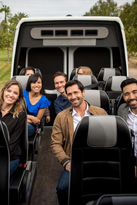 Group in Van