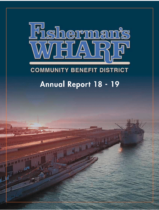 Annual Report 2018/2019 cover
