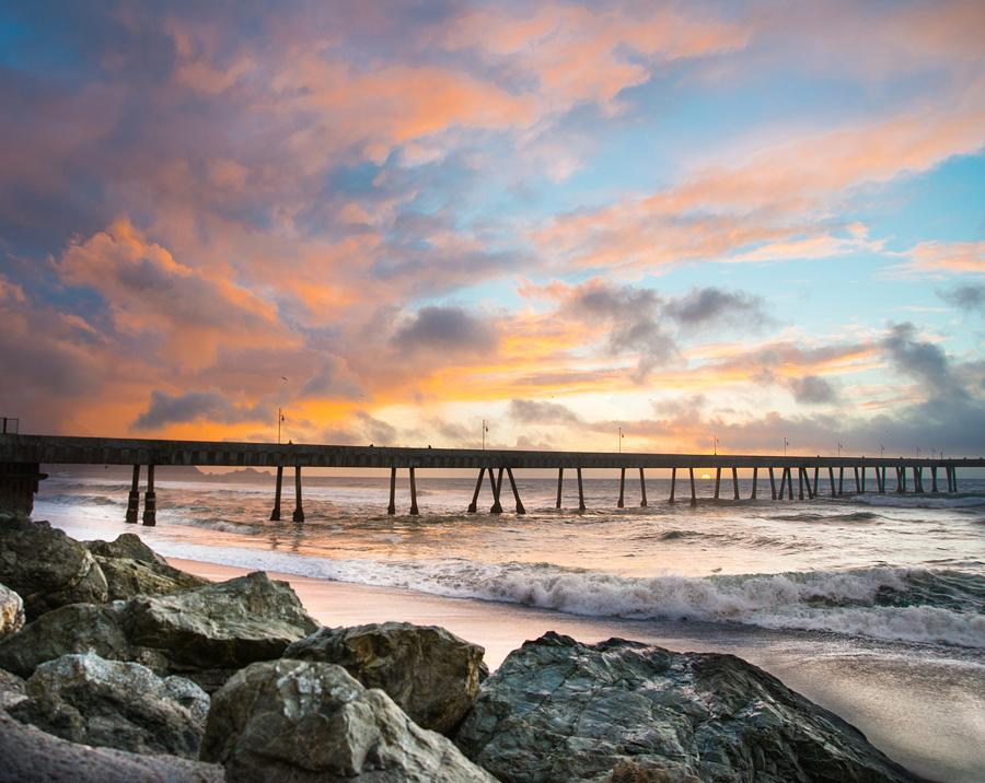 Pacifica_Pier_Sunset_by_BradleyWittke_SanMateoCounty_SiliconValley