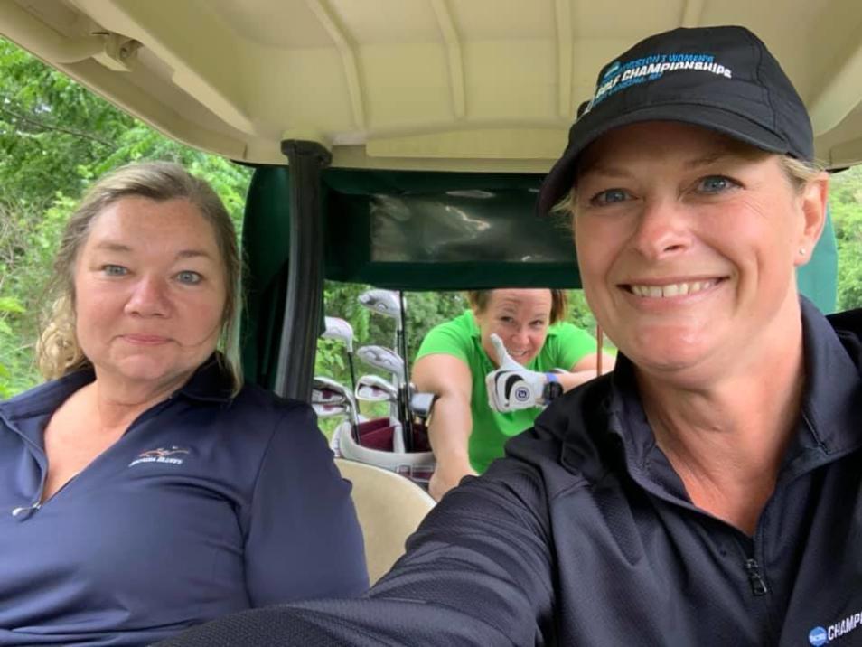 Melissa Nay league golf