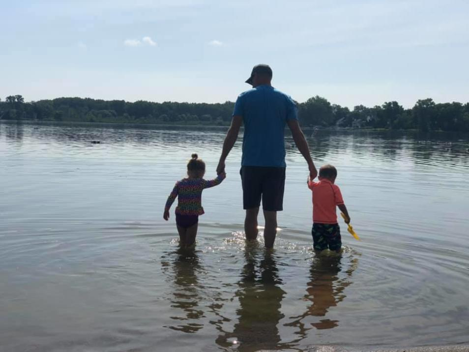 Family at Lake Lansing