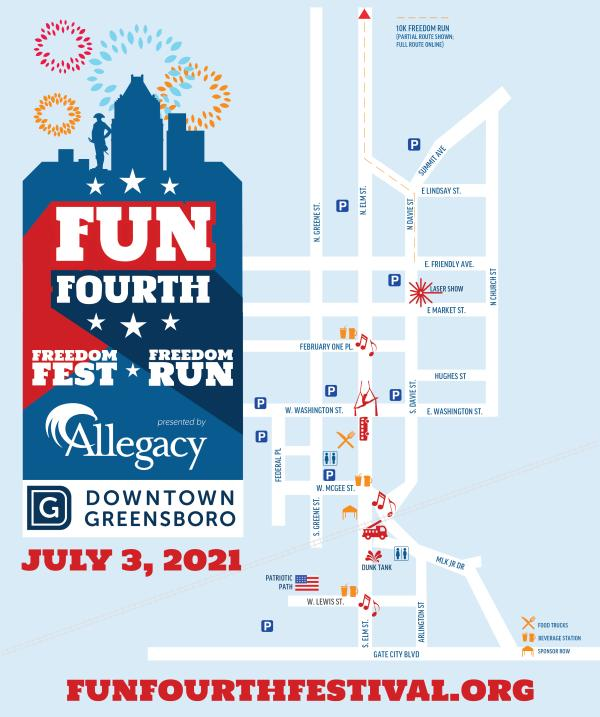 Freedom Fest Map