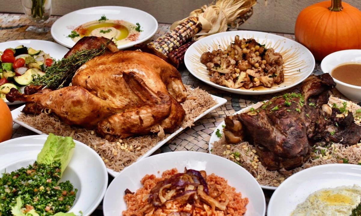 Lebanese Taverna - Thanksgiving Feast