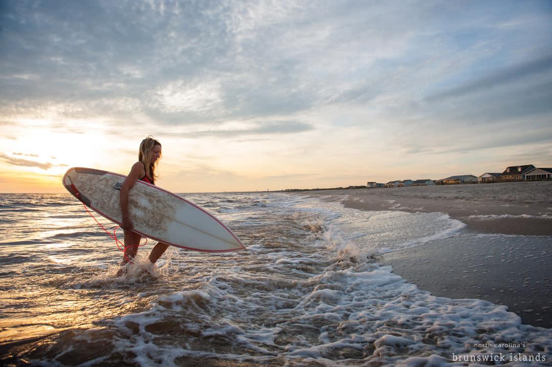 Surfing_Oak Island