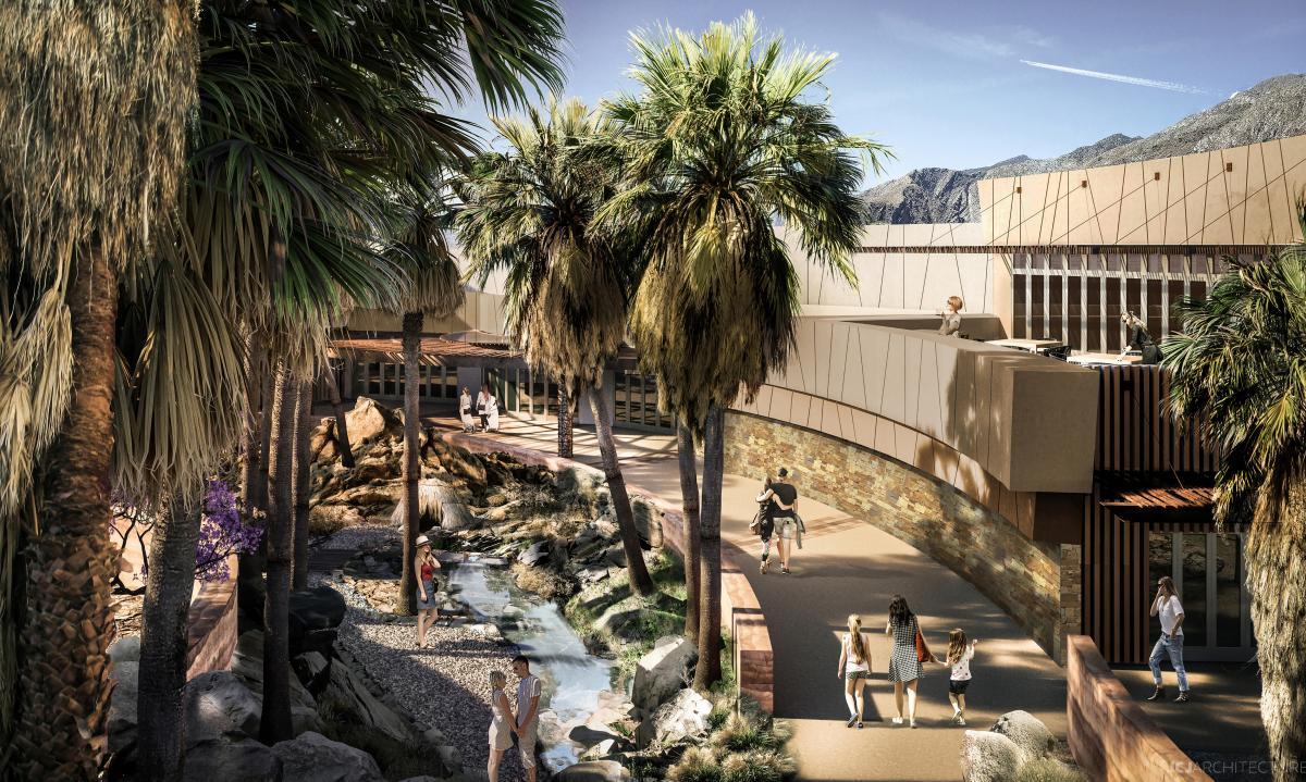 Agua Caliente Cultural Museum-blueprint