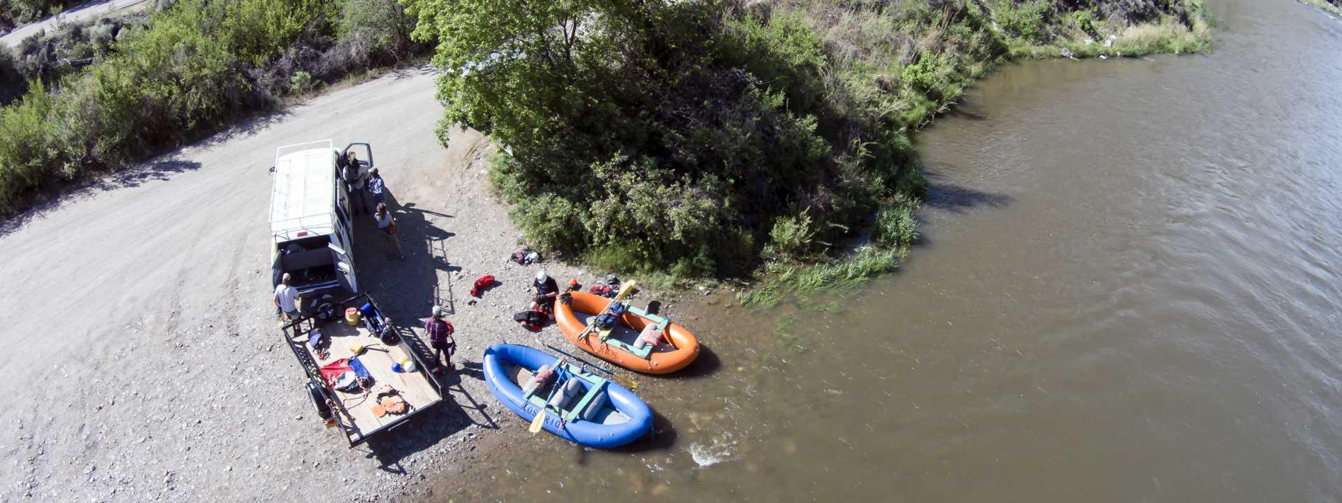 Rafting Header