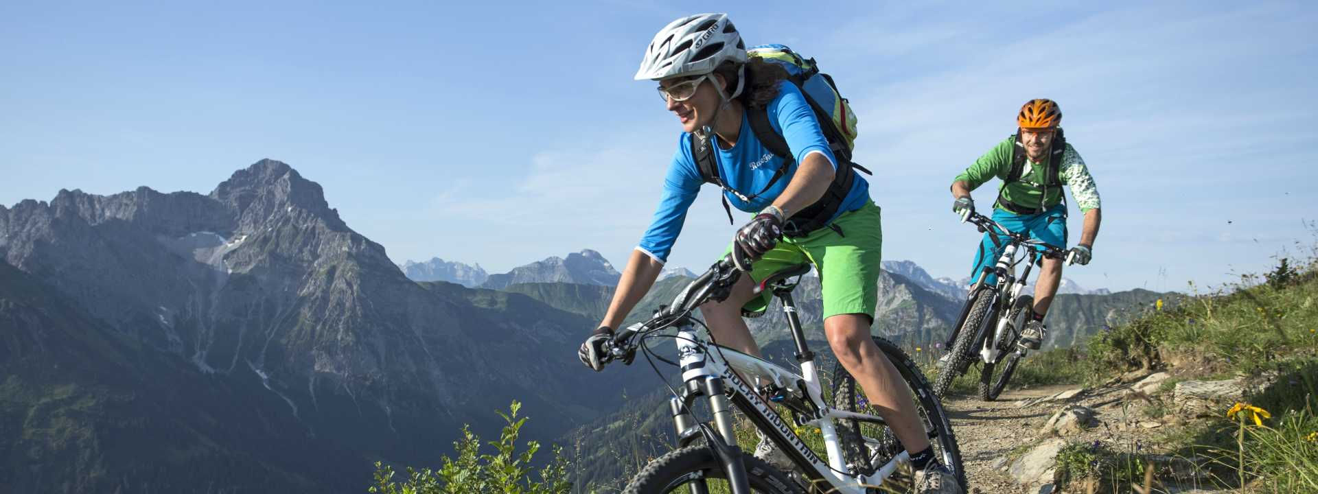 Mountain & Road Biking Header