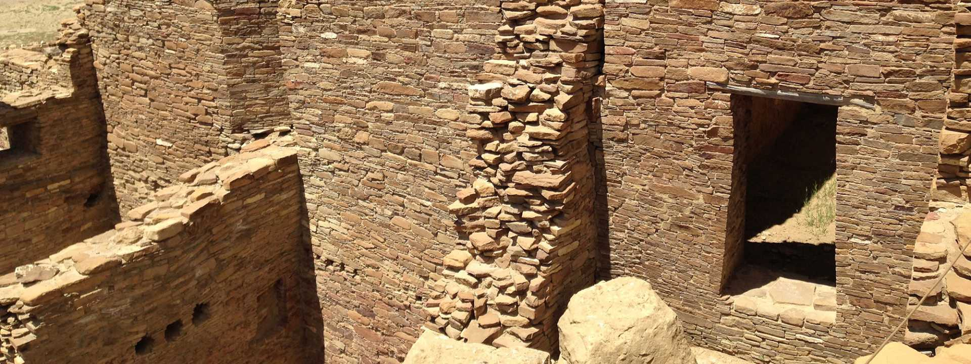A closer look at the ancient structures found at Chaco Canyon in New Mexico.