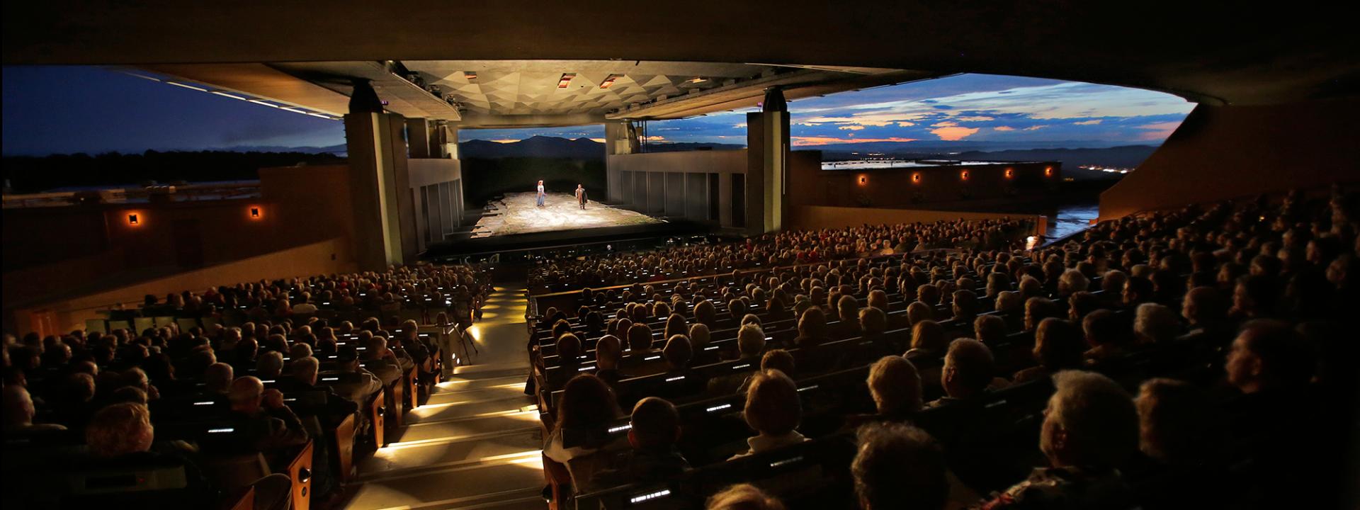 Santa Fe Opera Sunset