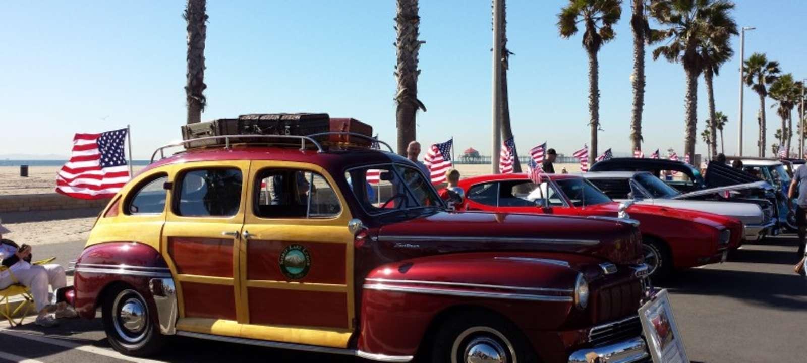 03b7c1404f41 Huntington Beach Car Show on Veterans Day