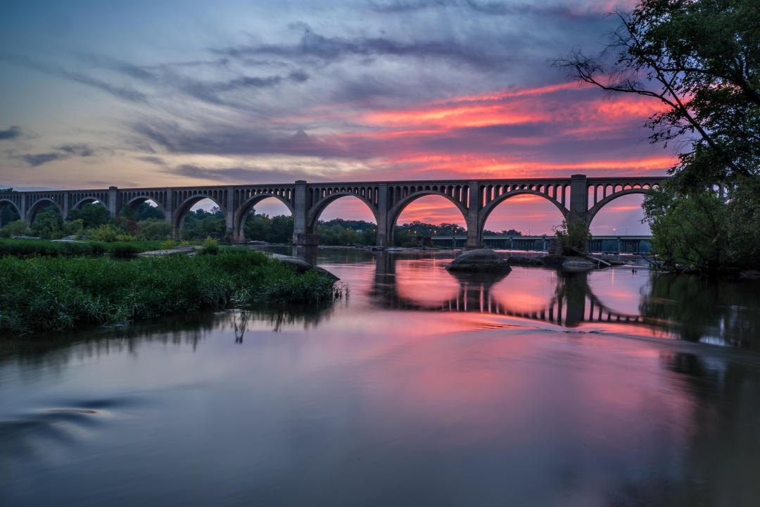 A-Line Bridge James River