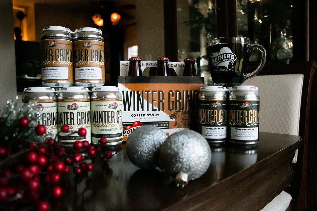 Winter Grind Beers, photo courtesy of Mother's Brewing Co.