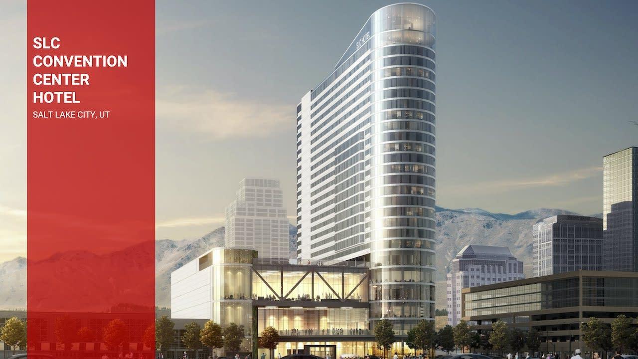 The New Salt Lake Convention Hotel – Hyatt Regency Salt Lake City