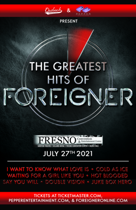 Greatest Hits of Foreigner Tour