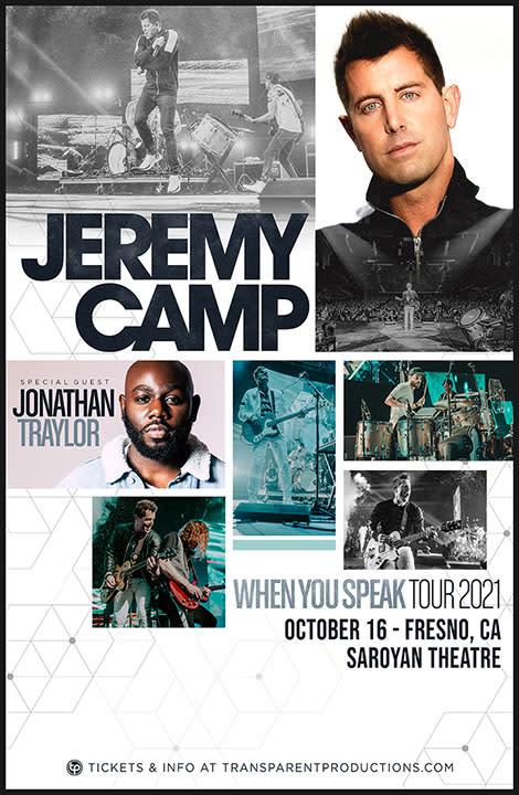 Jeremy Camp October 2021