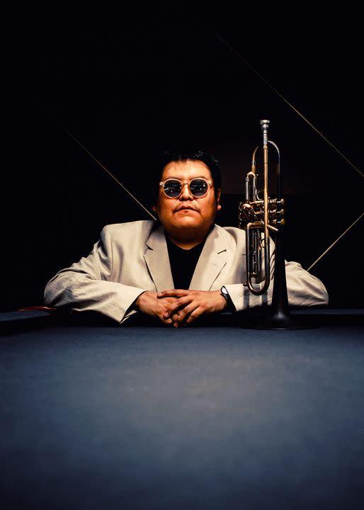 Jazz musician Delbert Anderson