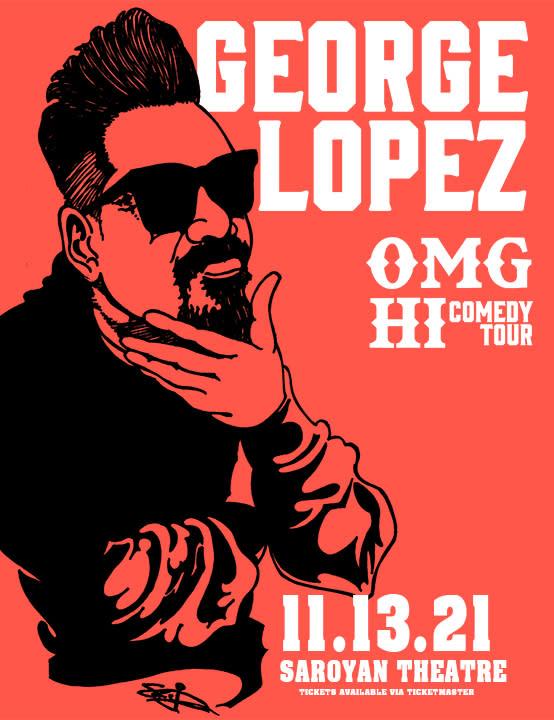 George Lopez November 2021