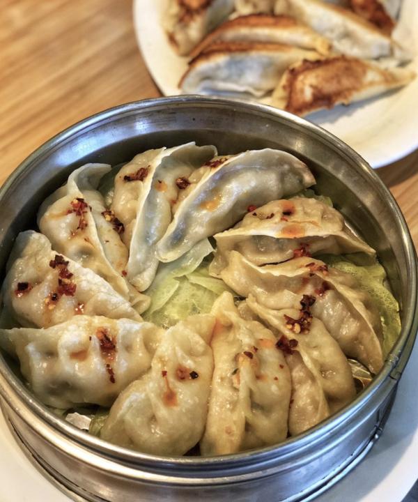 Dumplings From Golden Dumpling House In Houston, TX