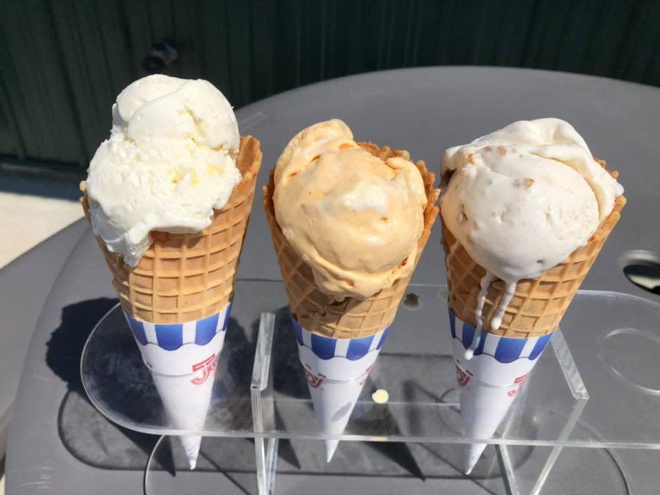 Keyes Creamery Ice Cream Cones