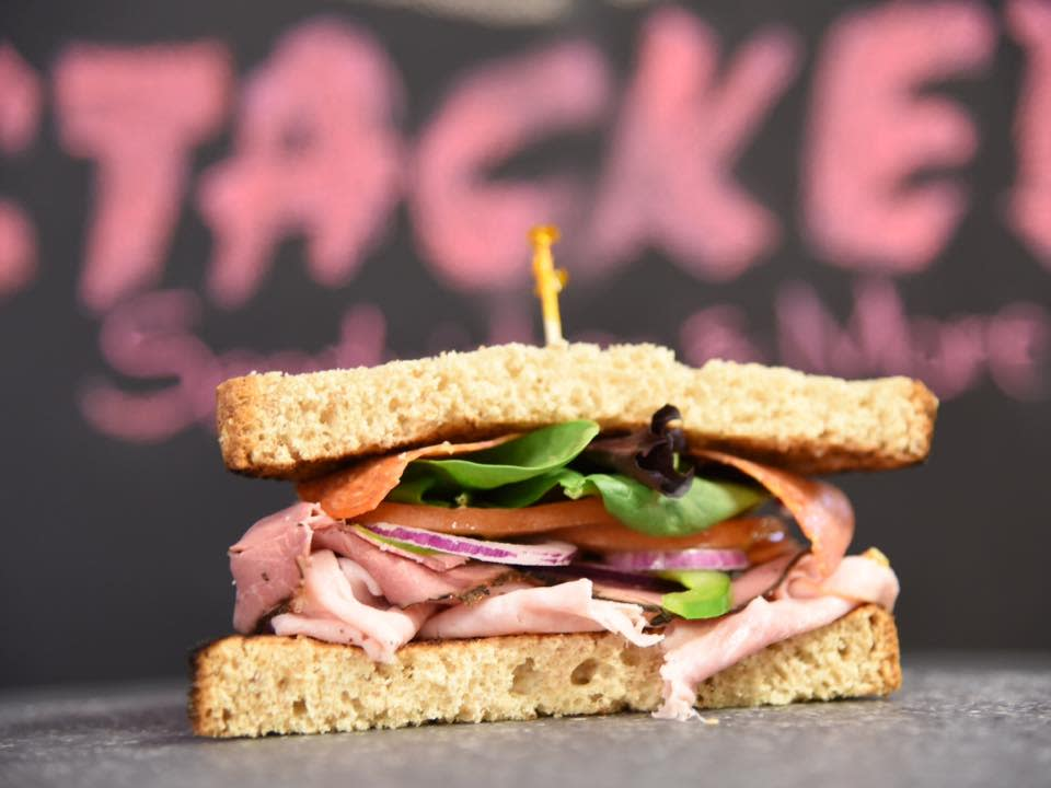 Stacked Sandwiches