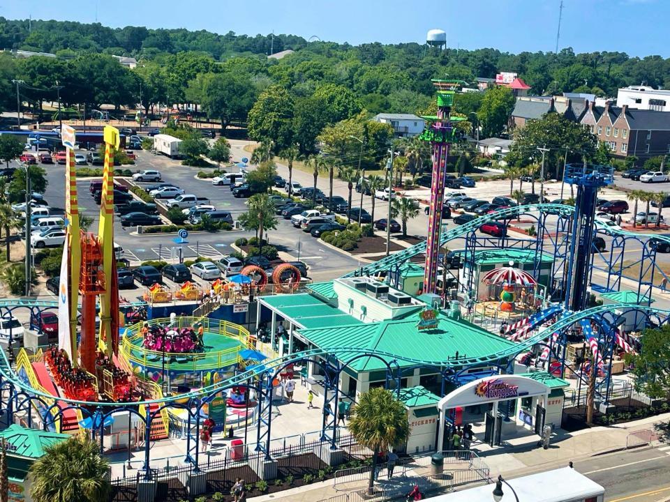 Funplex Amusement Park Aerial