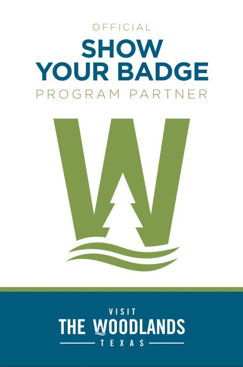 Show Your Badge Partner Window Cling