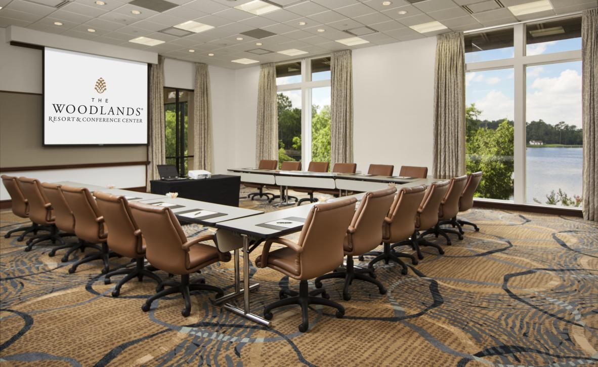 Magnolia Meeting Room at The Woodlands Resort