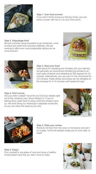 Mel & Fell Meal Subscription Service