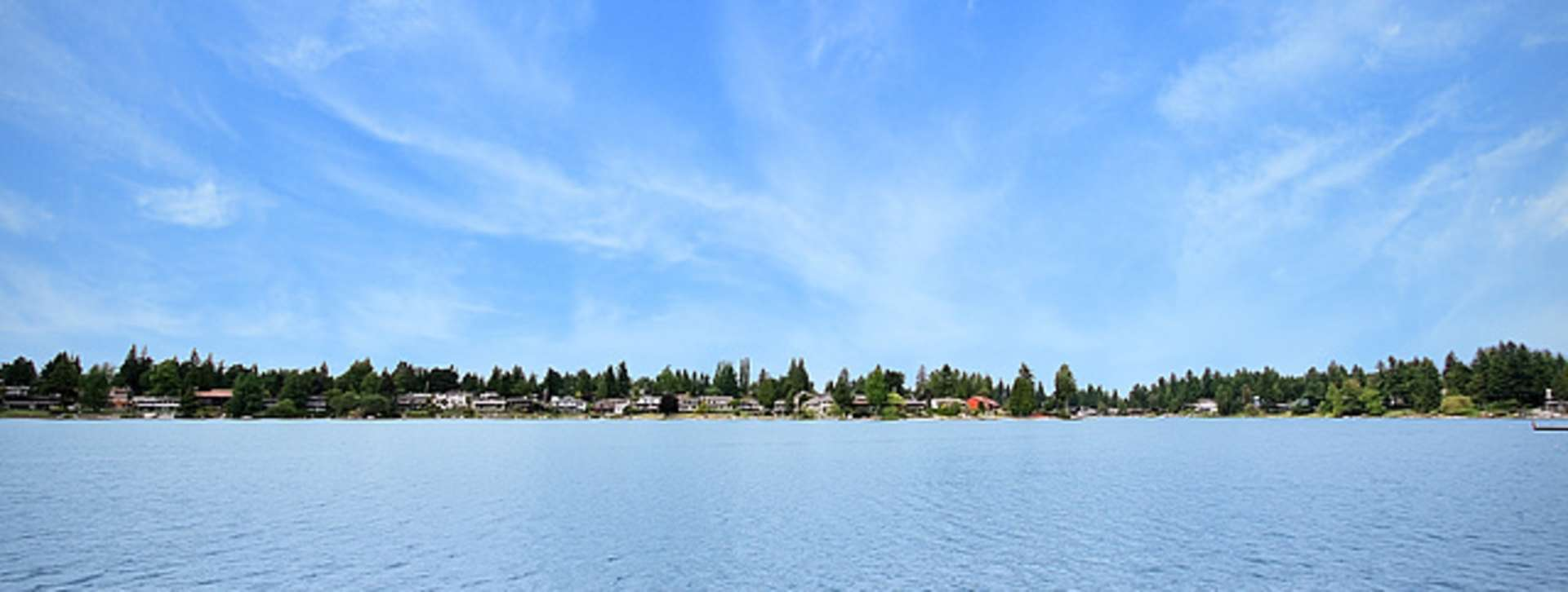 Angle Lake Wide Shot