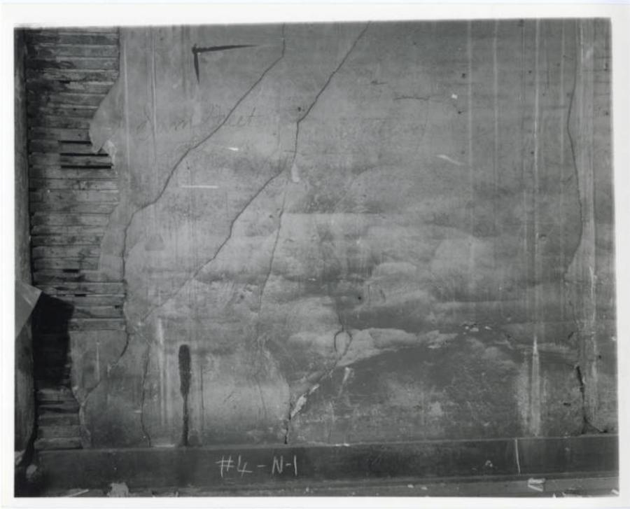 Huntsville Civil War graffiti Depot