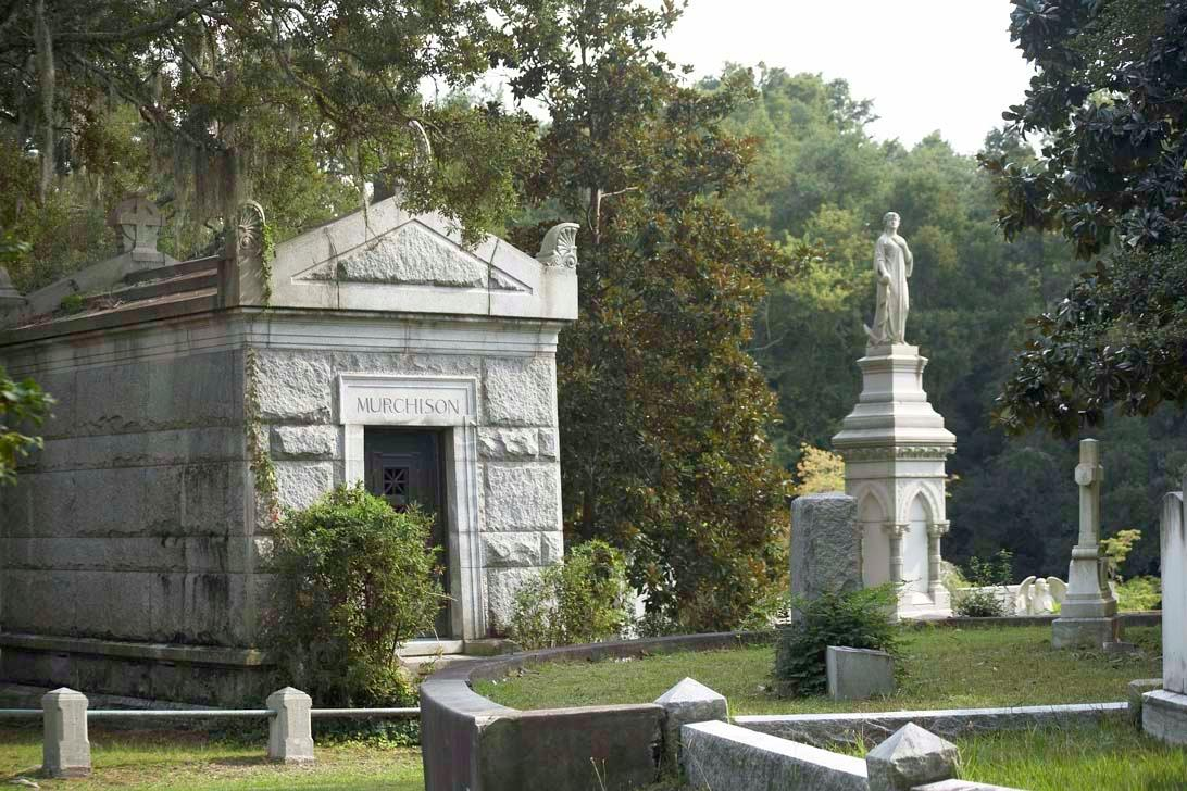 Murchison Tomb at Oakdale Cemetery in Wilmington, NC.