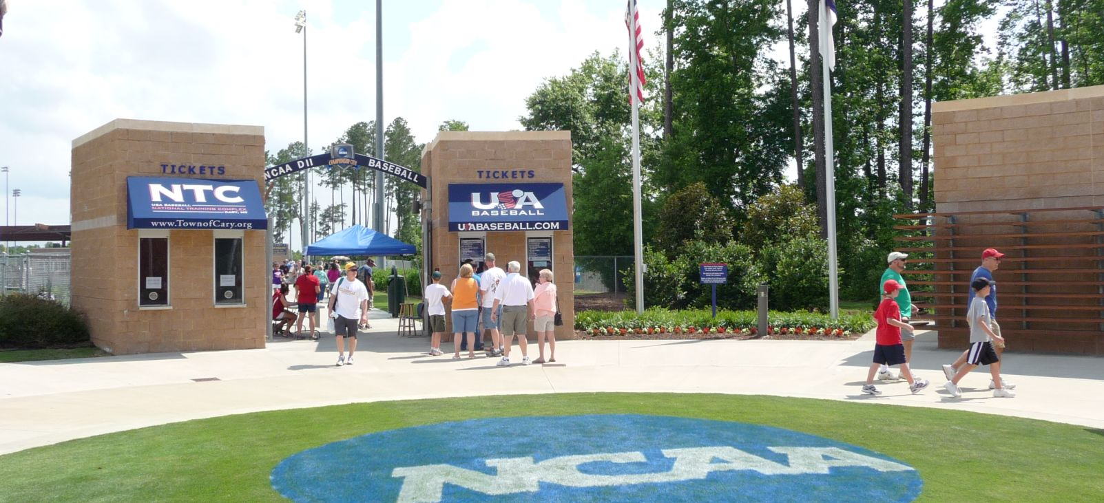 2011 NCAA Division II Baseball entrance