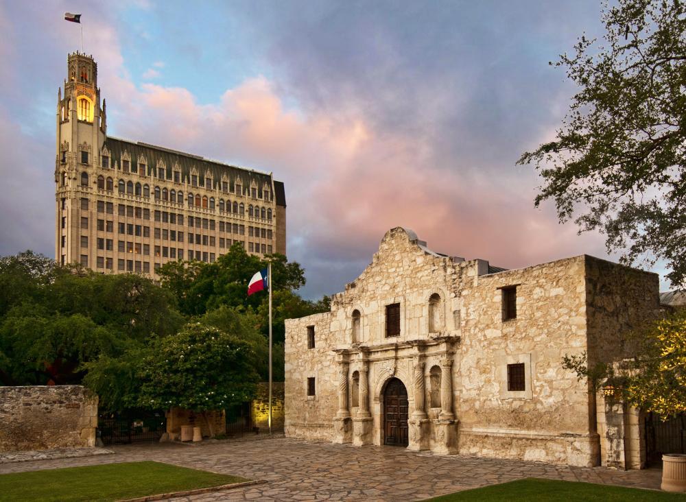 Alamo and Emily Hotel in San Antonio Texas