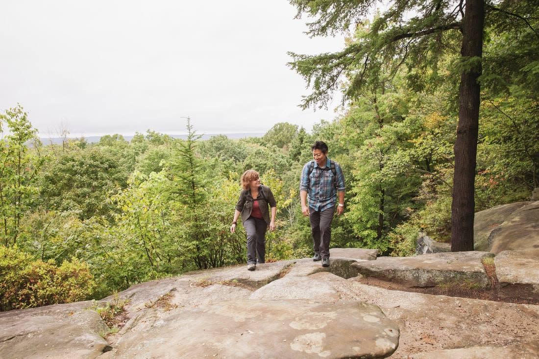 Hiking McKinney Roughs