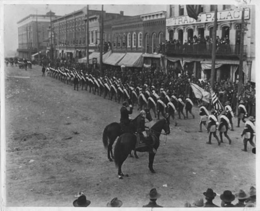 Historic North Side Square Photo