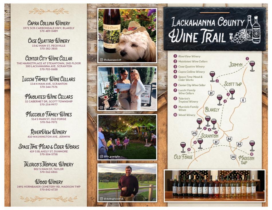 Lackawanna County Wine Trail (2021)