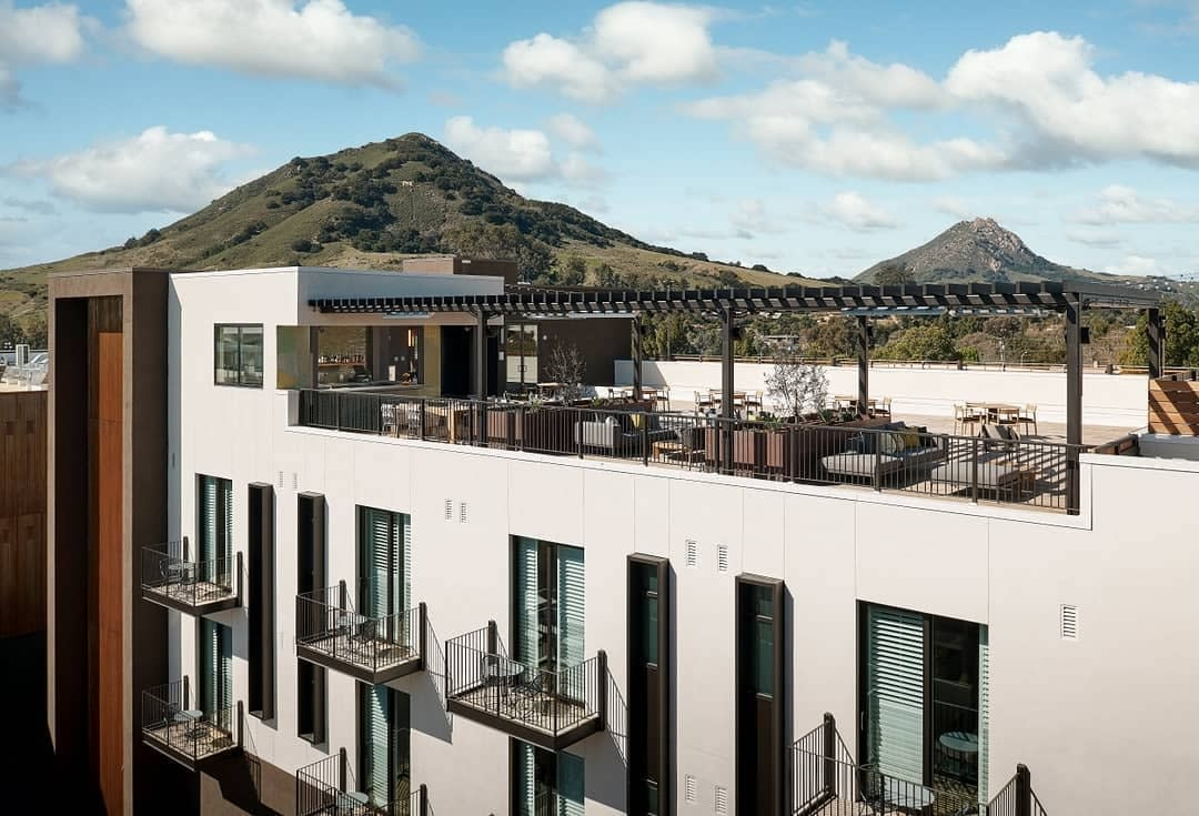 Hotel SLO High Bar on rooftop