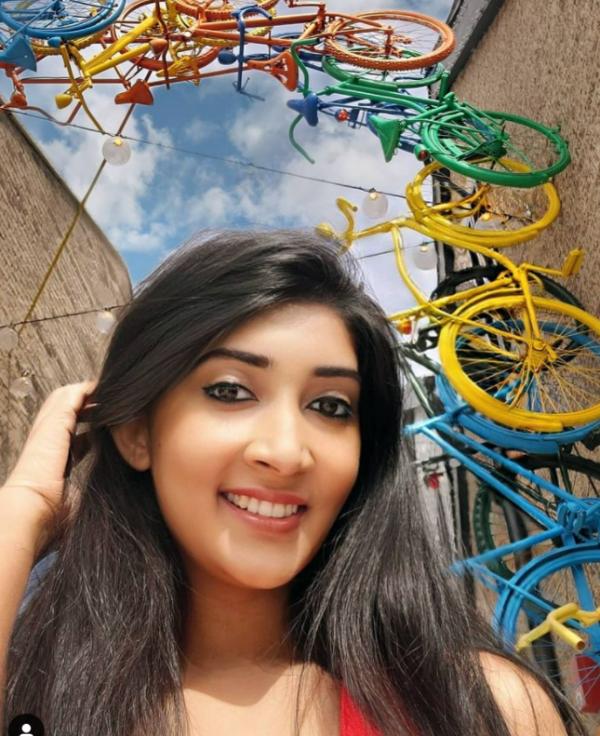 Selfie at Easton Bike Arch