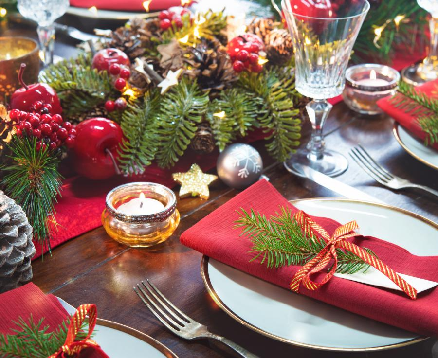 Holiday Meal Adobe Stock