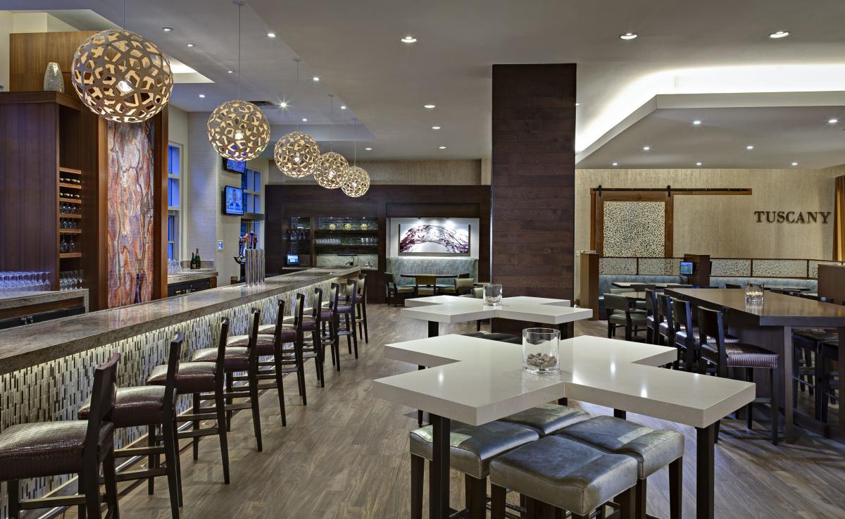 The Waterway Marriott Bar