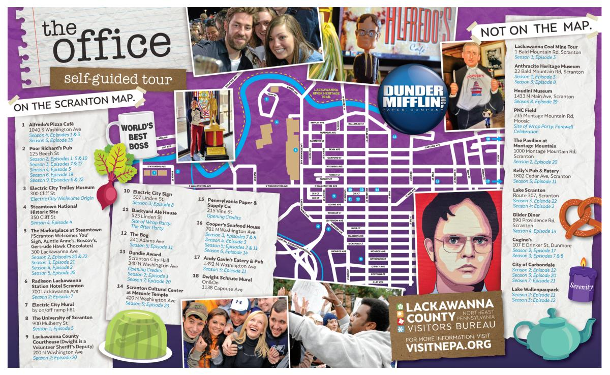 The Office Self Guided Tour