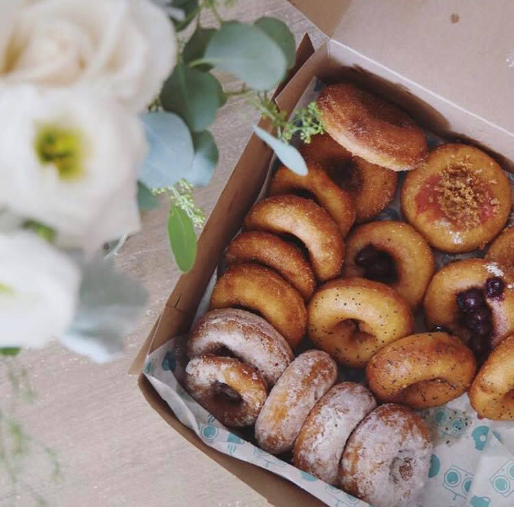 FoCo DoCo donuts and flowers