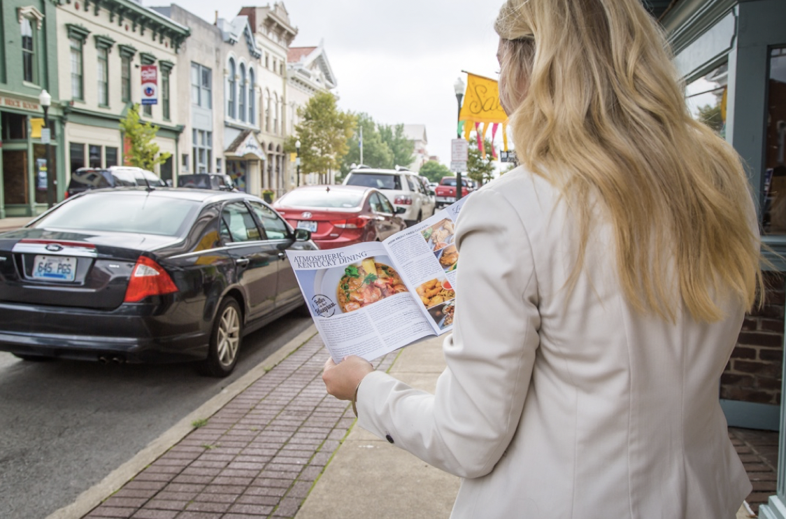 Reading Visitors Guide Downtown