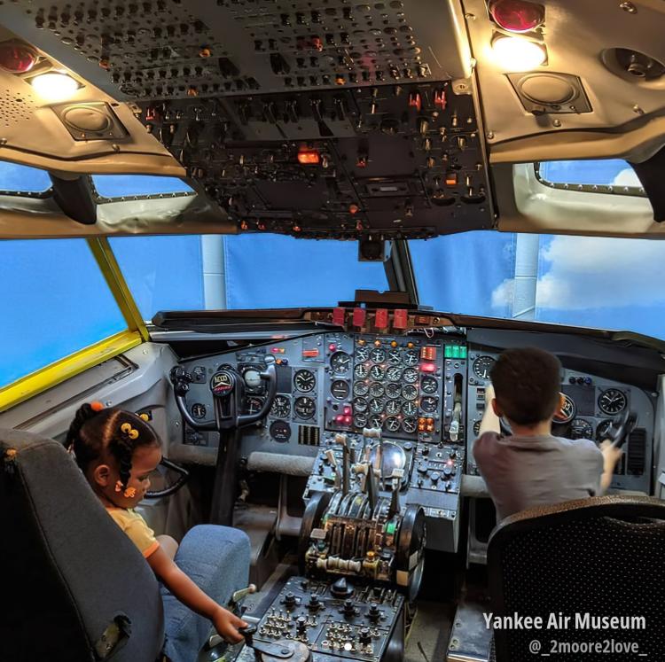 Open Cockpit Days, Yankee Air Museum