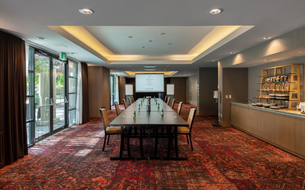 Meeting Room (COVID Setup) - Delta Grand