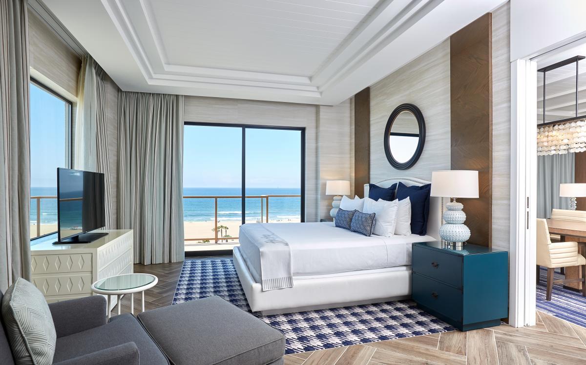 The Waterfront Beach Resort, a Hilton Hotel in Huntington Beach California