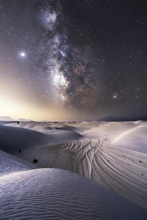White Sands Milky Way
