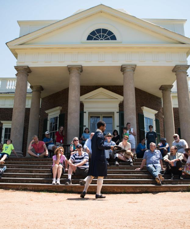 British Invasion demonstration at Monticello