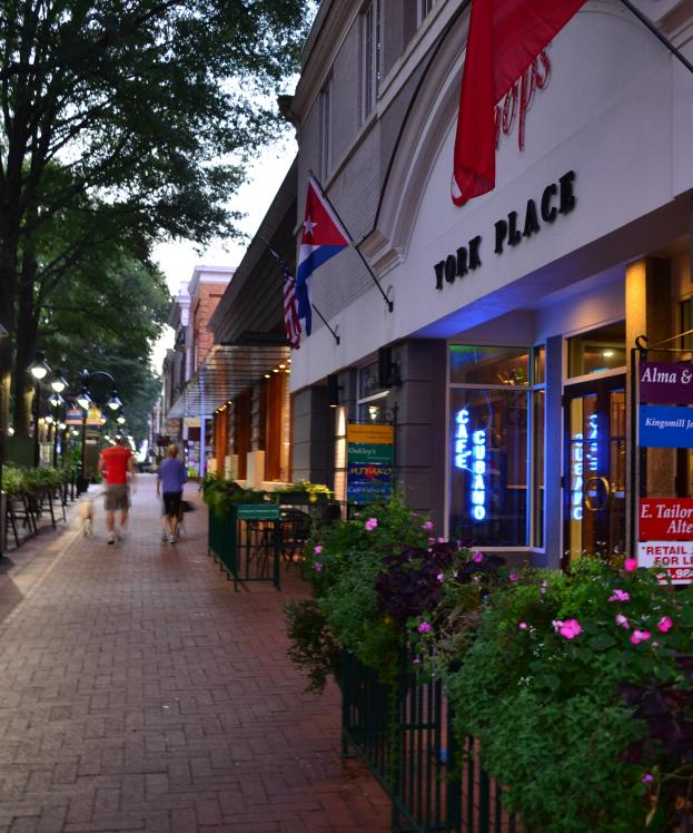 Downtown Mall Evening