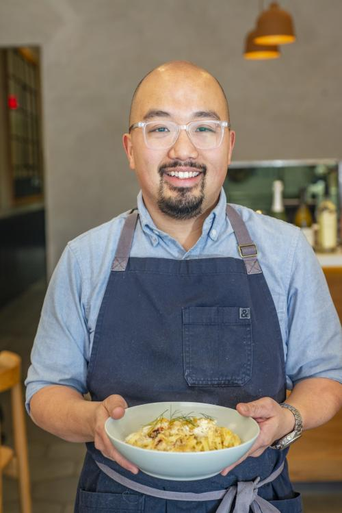 number5kitchen - Owner & Chef Henry Eng pic - given with permission by PUNCH magazine and photographer